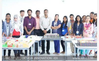 Exhibited Interior Designing Models at Sreenidhi College of Engineering